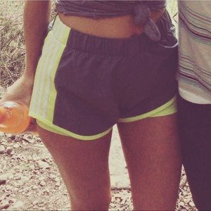 Adidas running shorts size small